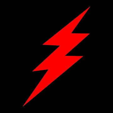 Red lightning by WiltWilde