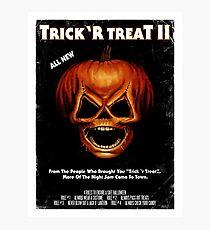 Trick 'r Treat II Poster Photographic Print