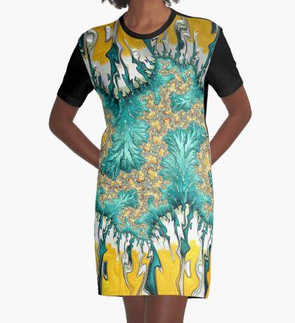 Sunshine River Graphic T-Shirt Dress