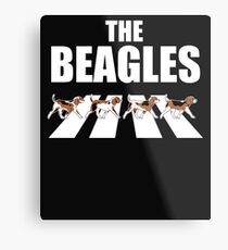 The Beagles Parody  Metal Print