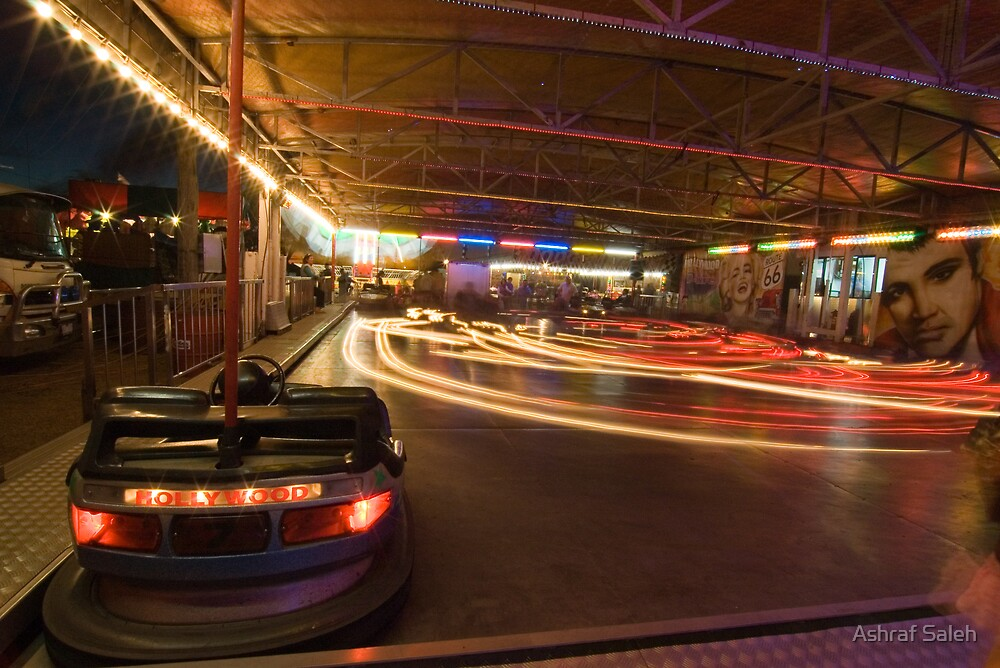 Dodgems by Ashraf Saleh