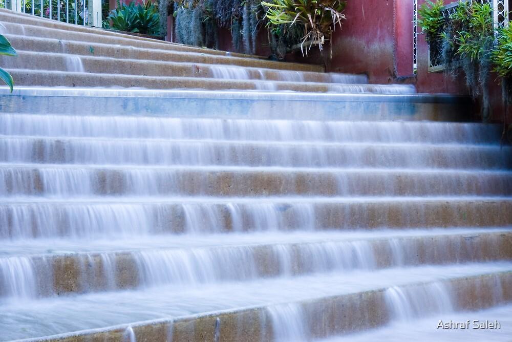 Stairfall by Ashraf Saleh