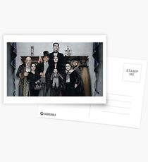 Addams Family Value Postcards