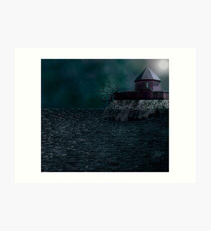 Fort at the sea.... Art Print