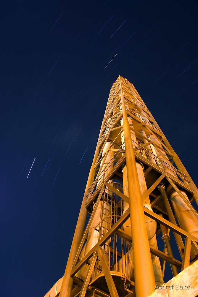 Stars & Pipelines by Ashraf Saleh