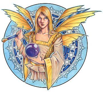 Winter Fairy Design 2 by cybercat