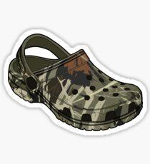 Pegatina Zapato de camuflaje Crocs de Crocs