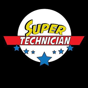 Super technician, #technician  by handcraftline