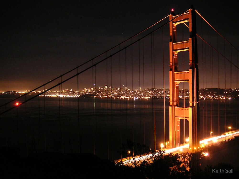 Golden Gate Bridge by KeithGall