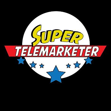 Super Telemarketer, #Telemarketer  by handcraftline