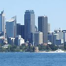 Sydney Skyline by davidac001