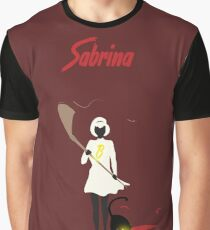 Sabrina and her cat Graphic T-Shirt