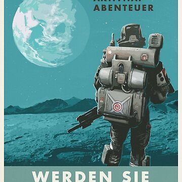 Wolfenstein Propaganda Poster von SchnappiimHaube