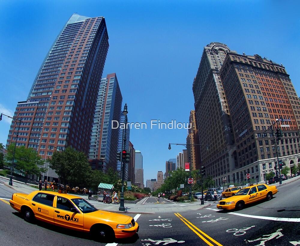 Fifth Avenue Taxi by Darren Findlow