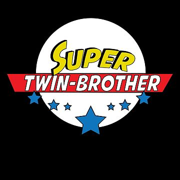Super twin-brother, #twin-brother  by handcraftline