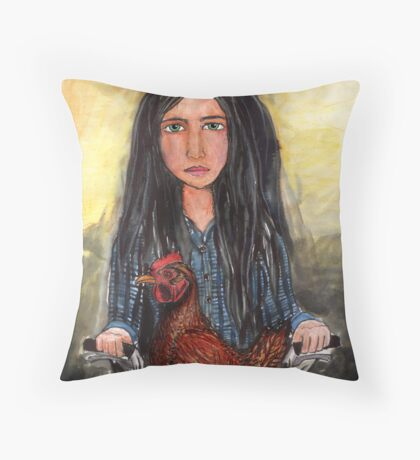 Dorothy and her determination Throw Pillow