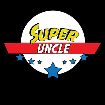 Super uncle, #uncle  by handcraftline