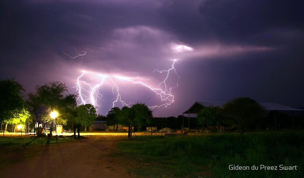 one night on the farm by Gideon du Preez Swart