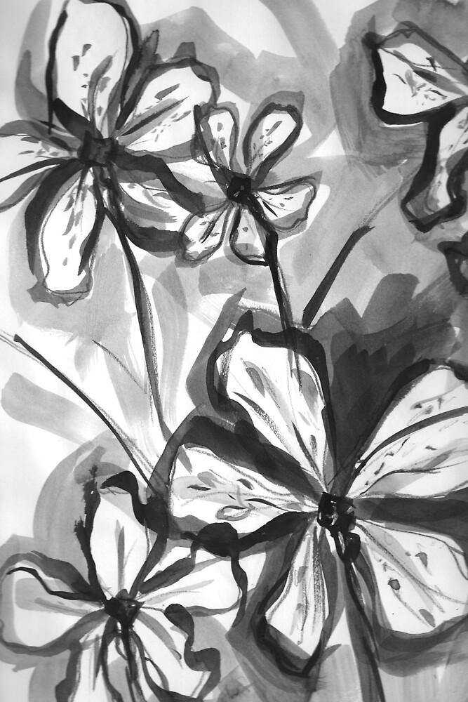 Flower Study 1 by aloeART