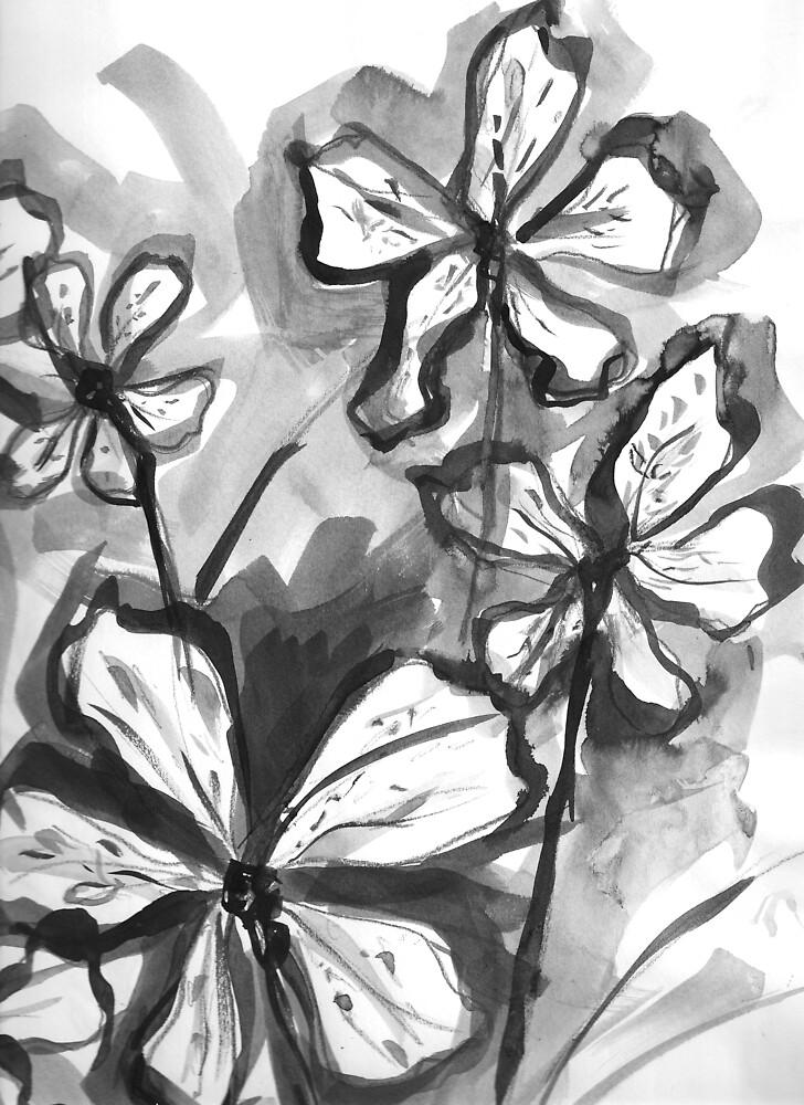 Flower Study 2 by aloeART