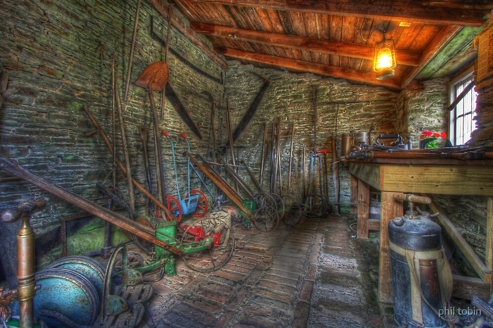The tool shed. by phil tobin