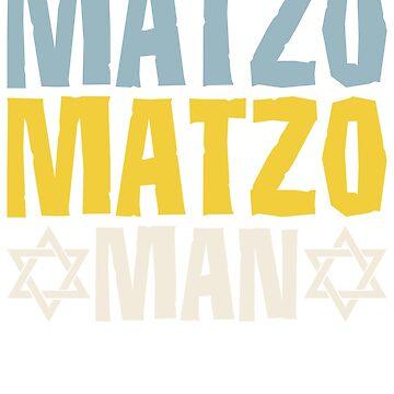 Matzo Matzo Man by teeprintsio