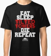 Eat Sleep Tilted Towers v3 Classic T-Shirt