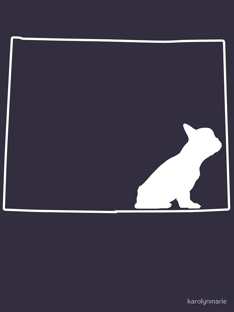 French Bulldog Frenchie Lover Colorado CO Dog Shirt by karolynmarie