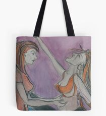 Meeting the Mad Woman Upclose Tote Bag