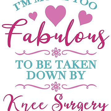 Knee Surgery For Women by thepixelgarden