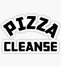 Pizza Cleanse Sticker