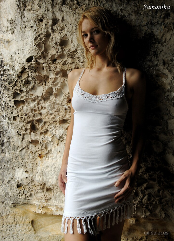 calendar - white dress by wildplaces