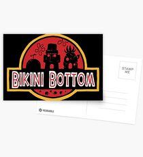 Jurassic Bottom Postcards