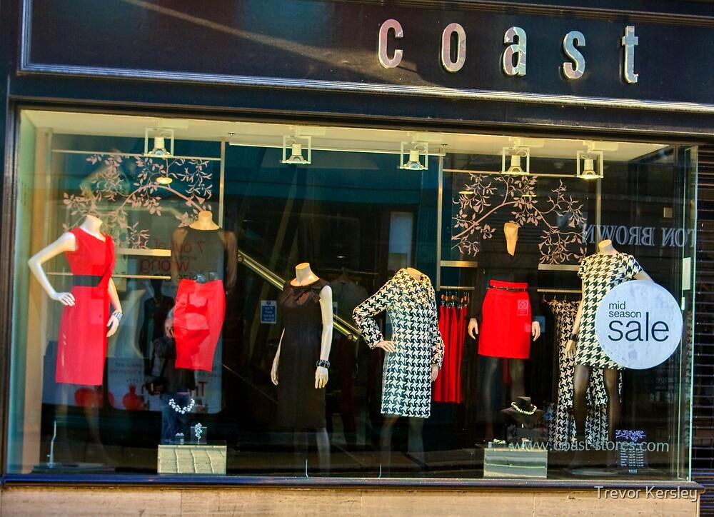 Ladies Dress Shop by Trevor Kersley