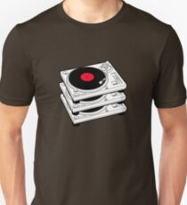 GRAMOPHONES RECORD PLAYERS Unisex T-Shirt