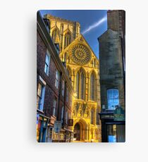 Rose Window - York Minster Canvas Print