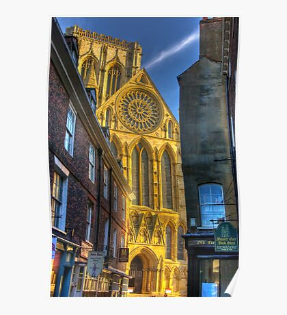 Rose Window - York Minster Poster