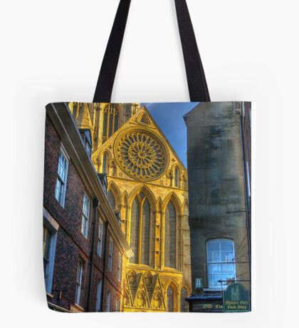 Rose Window - York Minster Tote Bag