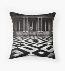 Three Doors Throw Pillow