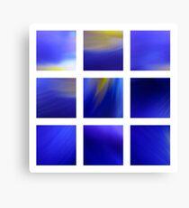 Dark Blue Dutch Iris Canvas Print