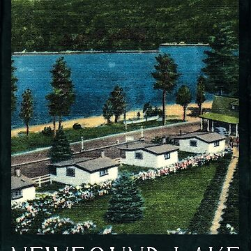 Newfound Lake by ghosthousedsign