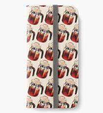 Coffee Percolator Pattern iPhone Wallet/Case/Skin