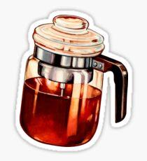 Coffee Percolator Pattern Sticker