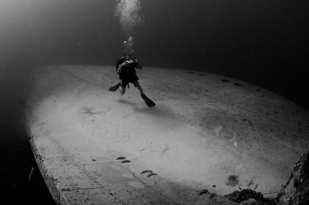 Wreck Diver by Rick Grundy
