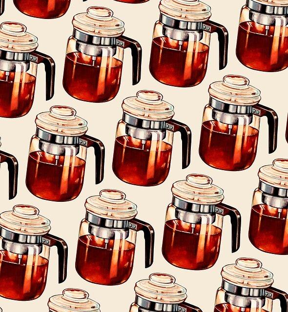 Coffee Percolator Pattern by Kelly  Gilleran