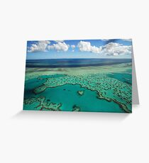 Tarjeta de felicitación Heart Reef, Gran Barrera de Coral, Pentecostés