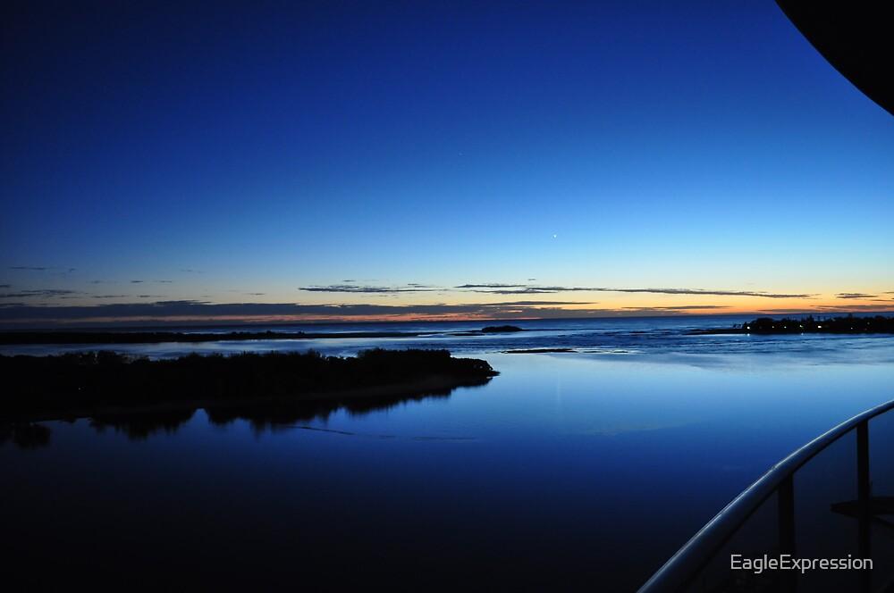 Maroochy River Sunrise. by EagleExpression