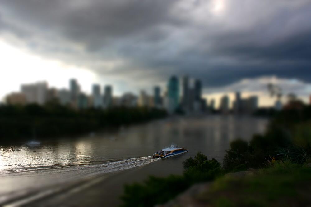 Model River Ferry by Keith G. Hawley