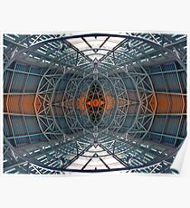 Abstract Symmetry Poster