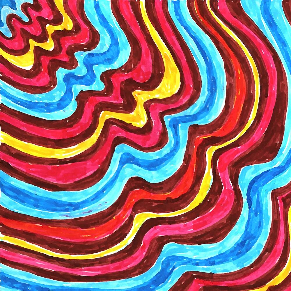sixties swirls 02 by aloeART